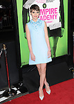 Sami Gayle attends The Weinstein Company L.A. Premiere of Vampire Academy held at The Premiere House at Regal Cinemas L.A. Live Stadium 14 in Los Angeles, California on February 04,2014                                                                               © 2014 Hollywood Press Agency