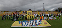 BOGOTÁ -COLOMBIA, 02-07-2016. Aspecto del encuentro entre La Equidad y Envigado FC por la fecha 1 de la Liga Águila II 2016 jugado en el estadio Metropolitano de Techo de la ciudad de Bogotá./ Aspect of the match between La Equidad and Envigado FC for the date 1 of the Aguila League I 2016 played at Metropolitano de Techo stadium in Bogotá city. Photo: VizzorImage/ Gabriel Aponte / Staff