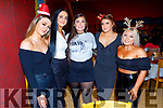 Enjoying their Christmas Party in Ristorante Uno on Saturday.<br /> L to r: Kelly O'Connor, Katie O'Sullivan, Christina Foley, Shona Kiely and Aine Masterson.
