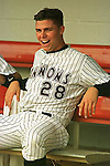 Pitcher Rick Ankiel taken during the 1998 season at G. Richard Pfitzner Stadium in Dale City, Va., home of the Prince William Cannons. (Photo by Tom Priddy)