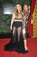 Roxanne McKee and Laura Pradelska at the PINK London 2021 annual charity fundraiser, Proud Embankment, 8 Victoria Embankment, on Wednesday 06th October 2021 in London, England, UK. <br /> CAP/CAN<br /> ©CAN/Capital Pictures