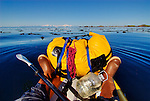 Sea Kayaking at Shuyak Island, Alaska.