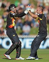 130118 HRV Cup Cricket Semifinal - Wellington Firebirds v Auckland Aces