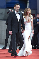 Ben Affleck and Jennifer Lopez attending The Last Duel Premiere as part of the 78th Venice International Film Festival in Venice, Italy on September 10, 2021. <br /> CAP/MPIIS<br /> ©MPIIS/Capital Pictures