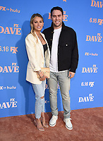 """LOS ANGELES, CA - JUNE 10: Executive Producer Scooter Braun and wife Yael Cohen Braun attend the Season Two Red Carpet event for FXX's """"DAVE"""" at the Greek Theater on June 10, 2021 in Los Angeles, California. (Photo by Frank Micelotta/FXX/PictureGroup)"""