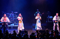 Montreal, 2001 File Photo<br /> ABBA cover group ; Bjorn Again in concert at the Club Soda in Montreal, Canada.<br /> <br /> Photo by Sevy-IMAGES DISTRIBUTION <br /> <br /> NOTE :  D-1 H original JPEG, saved as Adobe 198 RGB