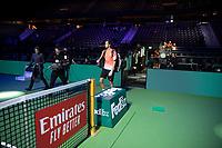Rotterdam, The Netherlands, 13 Februari 2019, ABNAMRO World Tennis Tournament, Ahoy,  first round singles: Daniil Medvedev (RUS), <br /> Photo: www.tennisimages.com/Henk Koster
