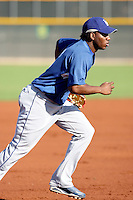 Pedro Baez - Los Angeles Dodgers, 2009 Instructional League.Photo by:  Bill Mitchell/Four Seam Images..