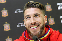 Sergio Ramos during comercial event during Spanish national football team stage. March 22,2016. (ALTERPHOTOS/Acero)