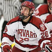Luke Greiner (Harvard - 26) - The Harvard University Crimson defeated the visiting Bentley University Falcons 5-0 on Saturday, October 27, 2012, at Bright Hockey Center in Boston, Massachusetts.