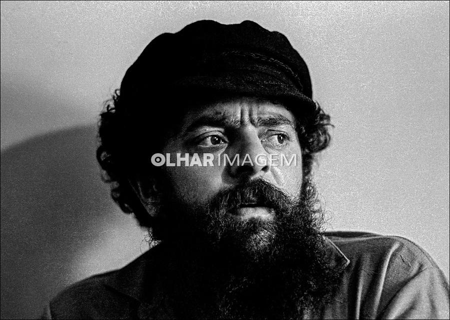 Pessoa. Personalidade. Luis Inácio (Lula) da Silva, sindicalista e político. SP. 1982. Foto Juca Martins.