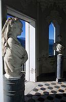 Europe/Italie/Lac de Come/Lombardie/Bellagio : Villa Melzi - Temple de style mauresque dans les jardins