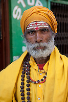 Bodhnath, Nepal.   Hindu Sadhu.