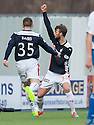 Falkirk's Rory Loy scores their first goal.