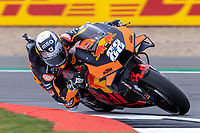 27th August 2021; Silverstone Circuit, Silverstone, Northamptonshire, England; MotoGP British Grand Prix, Practice Day; Red Bull KTM Factory Racing rider Miguel Oliveria on his KTM RC16