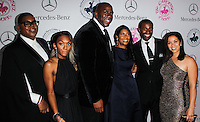 BEVERLY HILLS, CA, USA - OCTOBER 11: EJ Johnson, Elisa Johnson, Magic Johnson, Cookie Johnson arrive at the 2014 Carousel Of Hope Ball held at the Beverly Hilton Hotel on October 11, 2014 in Beverly Hills, California, United States. (Photo by Celebrity Monitor)