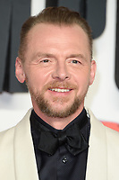 """Simon Pegg<br /> arriving for the """"Mission: Impossible Fallout"""" premiere at the BFI IMAX South Bank, London<br /> <br /> ©Ash Knotek  D3414  13/07/2018"""