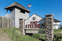 Historic Fort Stuben, Stubenville, Ohio, USA.