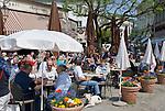 Germany, Baden-Wuerttemberg, Baden-Baden: Cafe and pastry shop Capri at Sophienstrasse | Deutschland, Baden-Wuerttemberg, Baden-Baden: Cafe und Konditorei Capri in der Sophienstrasse