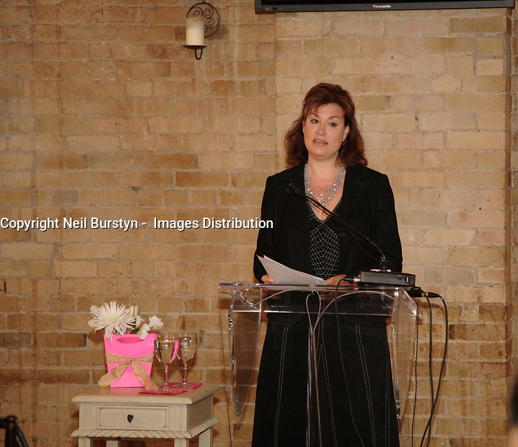 Toronto (ON) CANADA, May 2, 2007<br /> <br />  Musician Amy Sky  speak<br /> about post-partum depression. at the launch of  this spring's Mood Disorders Association of Ontario's Check Up from the Neck Up mental health campaign. MDAO created the campaign, now going province wide and bilingual, to help people take control of their mental health.<br /> <br /> photo by Neil Burstyn - Images Distribution