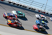 Monster Energy NASCAR Cup Series<br /> GEICO 500<br /> Talladega Superspeedway, Talladega, AL USA<br /> Sunday 7 May 2017<br /> Martin Truex Jr, Furniture Row Racing, Bass Pro Shops/TRACKER BOATS Toyota Camry Kyle Busch, Joe Gibbs Racing, Skittles Red, White, & Blue Toyota Camry<br /> World Copyright: Matthew T. Thacker<br /> LAT Images<br /> ref: Digital Image 17TAL1mt1399