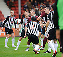HEARTS' ANDY WEBSTER SCORES HEARTS FIRST