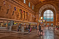 A view inside Toronto's historic Union Station.