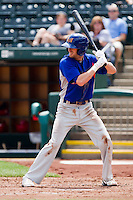 Jason Christian (16) of the Midland RockHounds at bat during a game against the Springfield Cardinals on April 19, 2011 at Hammons Field in Springfield, Missouri.  Photo By David Welker/Four Seam Images