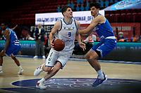 18-05-2021: Basketbal: Donar Groningen v Heroes Den Bosch: Groningen, Donar speler Damjan Rudez et Den Bosch speler Stefan Wessels