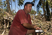 Vaughan Simpson, originally from New Zealand, was among the police officers and volunteers helping with the rescue effort. More than 170 people died when a tsunami triggered by an 8.3 magnitude earthquake hit Samoa and neighbouring Pacific islands on 29/09/2009. Samoa (formerly known as Western Samoa)..