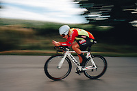 6th October 2021 Womens Cycling Tour, Stage 3. Individual Time Trial; Atherstone to Atherstone. Katie Scott.