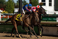 5th September 202, Louisville, KY, USA;  Bell's the One (4) edges out Serengeti Empress (8) to win the 12th race during the 146th Kentucky Derby on September 5, 2020 at Churchill Downs in Louisville, KY.