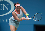 Sofia Arvidsson, (SWE) loses to Na Li (CHN) 6-2, 6-2 at the US Open being played at USTA Billie Jean King National Tennis Center in Flushing, NY on August 28, 2013