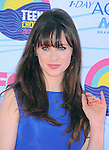 Zooey Deschanel at FOX's 2012 Teen Choice Awards held at The Gibson Ampitheatre in Universal City, California on July 22,2012                                                                               © 2012 Hollywood Press Agency