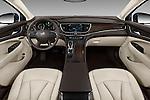 Stock photo of straight dashboard view of 2018 Buick LaCrosse Essence 4 Door Sedan Dashboard