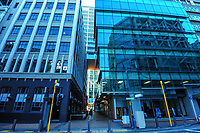 Victoria St, Wellington CBD, at 2pm during Level 4 lockdown for the COVID-19 pandemic in Wellington, New Zealand on Wednesday, 25 August 2021.
