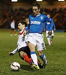 Ian Black tackled by Jamie Bain