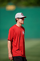 Chattanooga Lookouts Ryan Walker (18) before a game against the Jackson Generals on April 27, 2017 at The Ballpark at Jackson in Jackson, Tennessee.  Chattanooga defeated Jackson 5-4.  (Mike Janes/Four Seam Images)