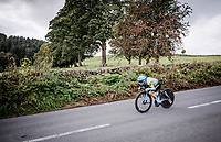 Alexey Lutsenko (KAZ/Astana)<br /> Elite Men Individual Time Trial<br /> from Northhallerton to Harrogate (54km)<br /> <br /> 2019 Road World Championships Yorkshire (GBR)<br /> <br /> ©kramon