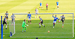 Rangers v St Mirren:  Rangers open the scoring as Conor McCarthy turns in a cross from Alfredo Morelos scoring an own goal past his keeper Jak Alnwick