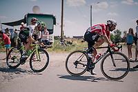 Thomas De Gendt (BEL/Lotto Soudal) at the end of pavé sector #9<br /> <br /> Stage 9: Arras Citadelle > Roubaix (154km)<br /> <br /> 105th Tour de France 2018<br /> ©kramon