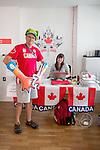 Rio 2016.<br /> Team Canada at the Athlete's Village // Équipe Canada au village des athlètes. 02/09/2016.