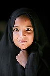 Portrait of a girl, Morocco