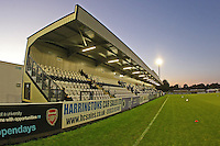 General view of the ground ahead of kick-off during Arsenal Ladies vs Manchester City Women at Meadow Park