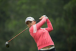 Jin Young Ko of South Korea tees off at the 14th hole during Round 3 of the World Ladies Championship 2016 on 12 March 2016 at Mission Hills Olazabal Golf Course in Dongguan, China. Photo by Victor Fraile / Power Sport Images