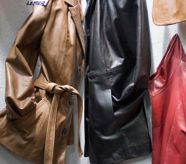 Leather Jackets, Gazelle, Rome, Italy