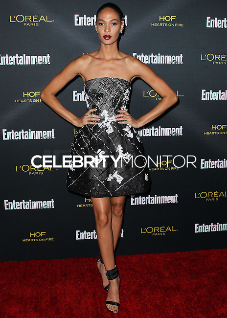 WEST HOLLYWOOD, CA, USA - AUGUST 23: Joan Smalls arrives at the 2014 Entertainment Weekly Pre-Emmy Party held at the Fig & Olive on August 23, 2014 in West Hollywood, California, United States. (Photo by Xavier Collin/Celebrity Monitor)