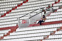MANIZALES - COLOMBIA, 05-12-2020: Once Caldas y Boyacá Chicó F.C. en partido por la fecha 2 de la Liguilla BetPlay DIMAYOR 2020 jugado en el estadio Palogrande de la ciudad de Manizalez. / Once Caldas and Boyaca Chico F.C. in match for the date 2 as part of BetPlay DIMAYOR 2020 Liguilla played at the Palogrande stadium in Manizales city. Photo: VizzorImage / John Jairo Bonilla / Cont