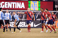 Michael Bradley. The USMNT tied Argentina, 1-1, at the New Meadowlands Stadium in East Rutherford, NJ.