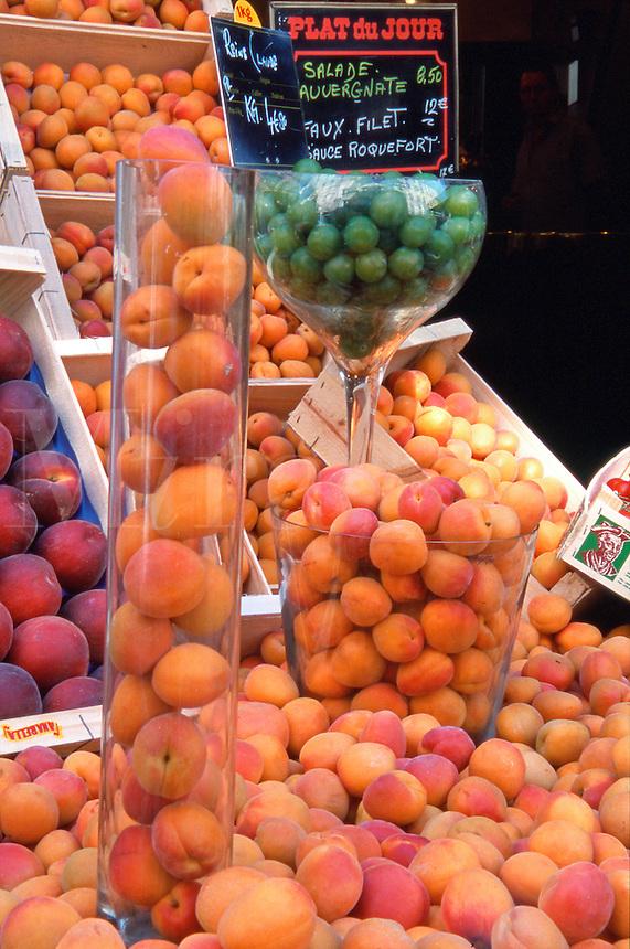 France Paris Fruit market